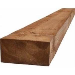 Brown Tanalised Softwood Sleepers